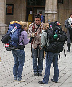 Family Abroad - Urban Backpacking Image Credit: Public Domain commons.wikimedia.org