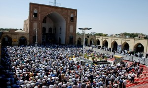 Eid prayer at Nishapur Image credit: Sonia Sevilla for Wikimedia Commons